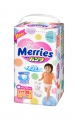 Трусики Merries Junior 12-22 кг (38 шт)